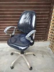 Leather Black Computer Revolving Chair