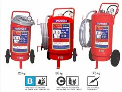 B C Fire Extinguisher Dcp Type, For Factory, Capacity: 25 kg