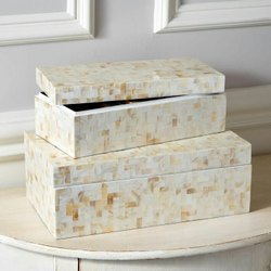 Resin,MDF Natural Resin Jewellery Box, For Home, Size/Dimension: 6x4 7x5
