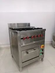 Four Burner Conti Cooking Range