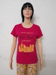 Primrose Half Sleeve Ladies T-shirts