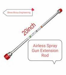 Airless Gun Extension Rod