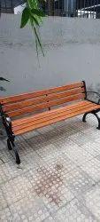 Metal Magic Rectangular Garden Bench Cast Iron, Size: 5ft