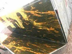 Fish gold granite, Thickness: 15-20 mm