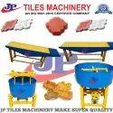 Chequered Tiles Making Machine