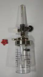 Medical grade Bpc Flowmeter With humidifier  bottle