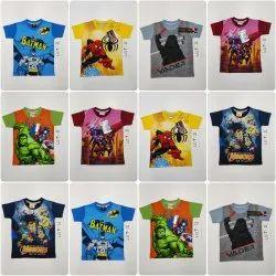 Boys Comic Print T Shirt