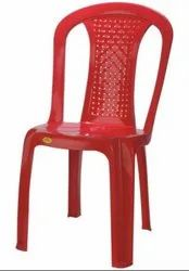 Moulded Plastic Chair Without Arm