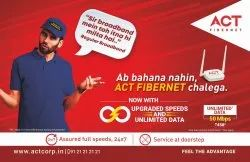 Act Fibernet Broadband Wifi Connection Service, in Lucknow