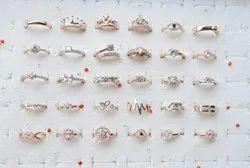 Unisex Rose gold rings