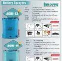 Agni Double Pump Battery Powered Knapsack Sprayer