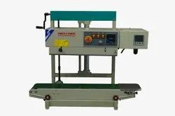 continuous bag sealing machine with nitrogen