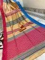 Cotton Kantha Stitch Weaving Sarees