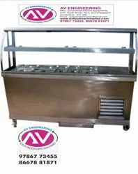 SS Kitchen Trolleys For Hotels, Hospitals, Canteen, Schools
