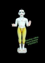 Hindu Marble Swami Narayan Statue