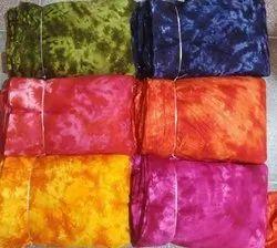 Printed Fabric Rayon Reyon Tie Dye Fabrics, 120