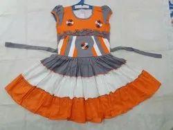 Frocks & Dresses Printed Girls Frock