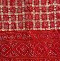 Pure Gazi Silk Bandhni Saree
