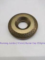 Brass Burner Cap Jumbo