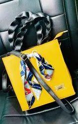 Yello Pu Leather fasion bag