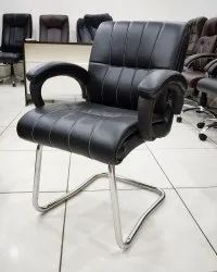 Leather Fix Office Chair, Black
