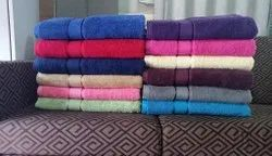 Plain Bathroom Cotton Towel, Packaging Type: Packet, Size: 30x60