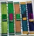 Wedding Wear Plain Traditional Latest Indian Resham Blended Cotton Khun Handwoven Sarees, With Blouse Piece