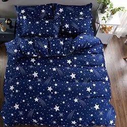 Cotton Bedsheet And Comforter Set