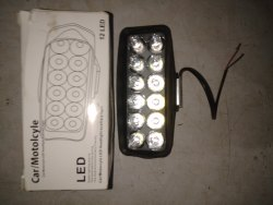Bike LED light