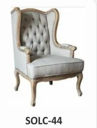 Modern SOLC-44 Sofa Chair, For Hotel, Back Style: High Back