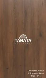 Brown Wooden Tabata HPL Panels, For Residential, Thickness: 6mm