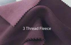 Three Thread Fleece Fabrics