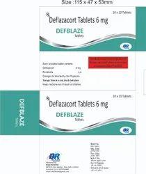 Deflazacort 6 Mg Tablets (DEFBLAZE)