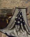 Wedding Wear Georgette Silk Banarasi Sarees