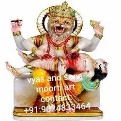 Marble Narshing Bhagwan statue