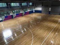 Auditorium Teak Wooden Flooring