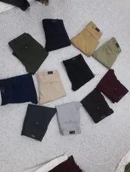 Plain Mens Lycra Trouser