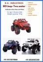 Fiber Battery Powered Toy Jeep, Bluetooth Remote, Capacity: 2 Kids