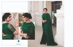Original Branded 6.3 Heavy Border Wedding Wear Saree