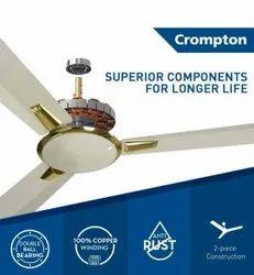 Ivory CROMPTON AURA 1200 mm 3 Blade Ceiling Fan