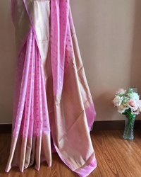 Banarasi Georgette Silk Weaving Sarees