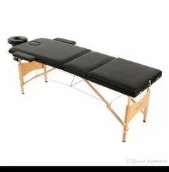 Black Wood Massage Beds, For Clinic, 15 Kg