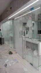 Glass Tuffen And Fitting, Size: 101-500 Square Feet