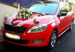 Wedding Car Decoration Service, Bangalore