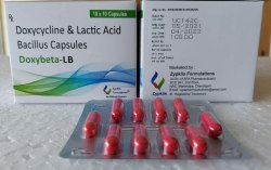 Doxybeta-LB 100mg Doxycycline and Lactic Acid Bacillus Capsule