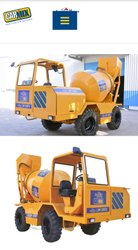 Diesel Engine Apollo Carmix Self Loading Concrete Mixer, Drum Capacity: 500 L