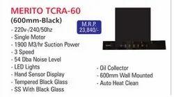 Filterless Kraft TC RA (60Cm), Suction Capacity(M3/Hr): 1300