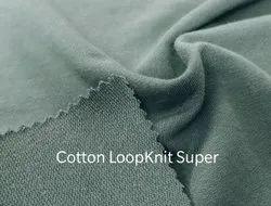 Cotton Loopknit Super
