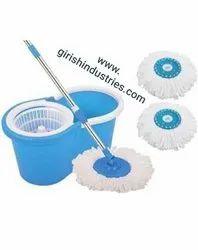 Magic Mop Bucket With Plastic Rotator