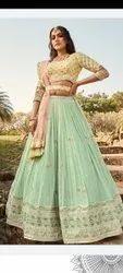 Party Wear Embroidery Ladies Designer Lehenga, 20 To 30